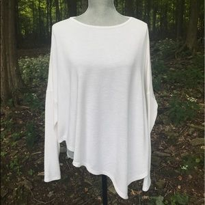 Assymtetrical Sweater - Ivory